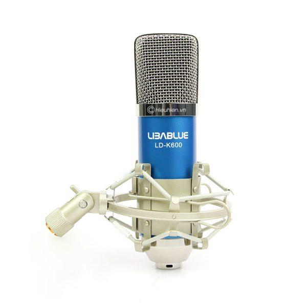 Micro thu âm Libablue LD-K600 hát live stream, hát karaoke giá rẻ 02