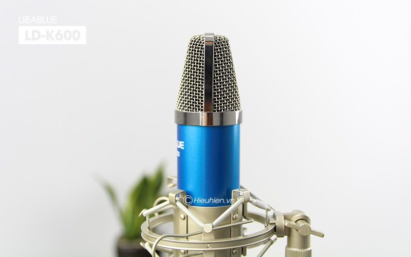 micro thu âm libablue ld-k600 hát live stream, hát karaoke giá rẻ - đầu micro