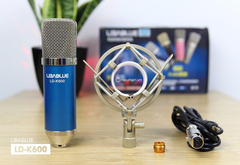 micro thu âm libablue ld-k600 hát live stream, hát karaoke giá rẻ - phụ kiện