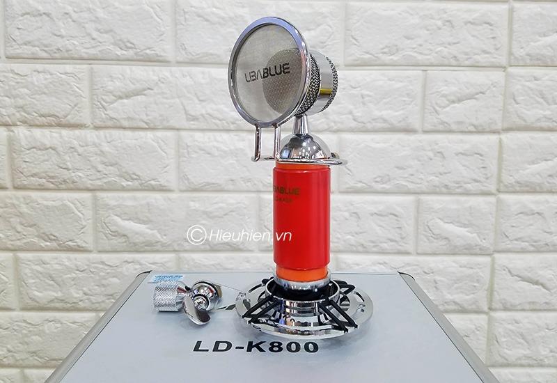 micro thu am libablue ld-k800 hat live stream, hat karaoke gia re 13