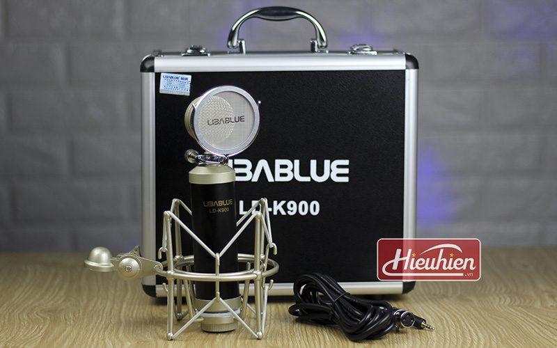 micro thu âm libablue ld k900 cao cấp sử dụng hát karaoke, livestream - trọn bộ
