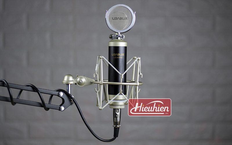 micro thu âm libablue ld k900 cao cấp sử dụng hát karaoke, livestream - giá đỡ