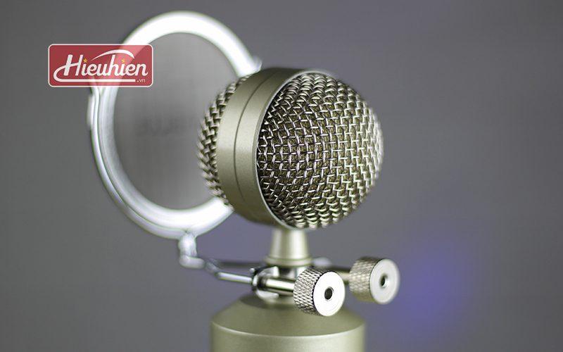micro thu âm libablue ld k900 cao cấp sử dụng hát karaoke, livestream - đầu micro