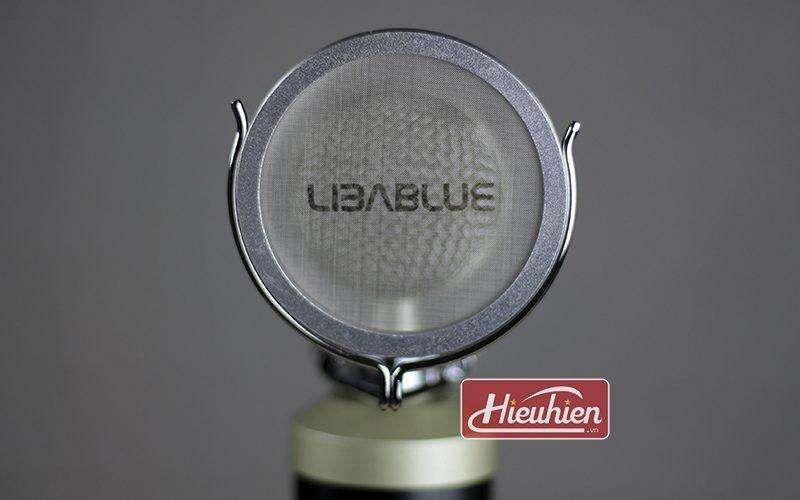 micro thu âm libablue ld k900 cao cấp sử dụng hát karaoke, livestream - màn lọc âm