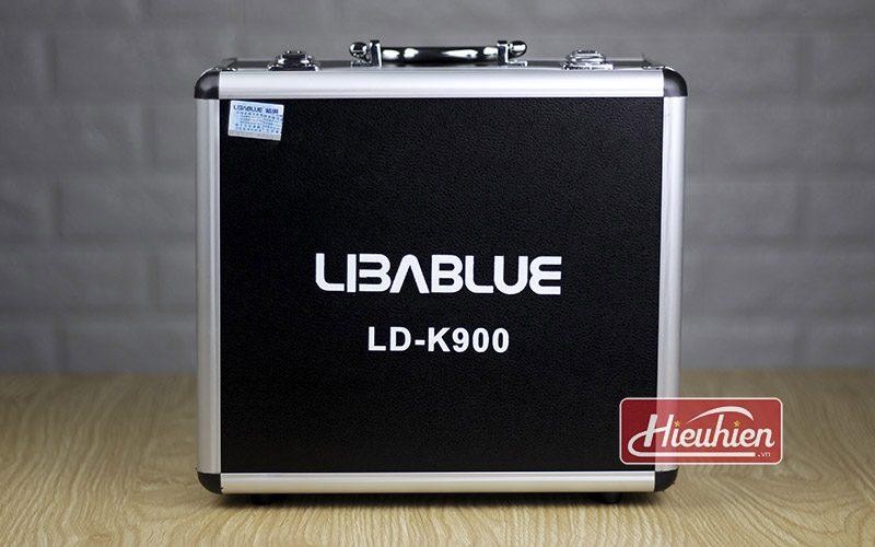 micro thu âm libablue ld k900 cao cấp sử dụng hát karaoke, livestream - hộp kim loại