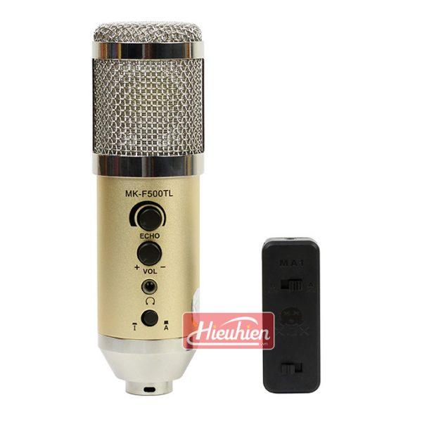 Micro live Mk-F500TL không cần soundcard thu âm karaoke 01