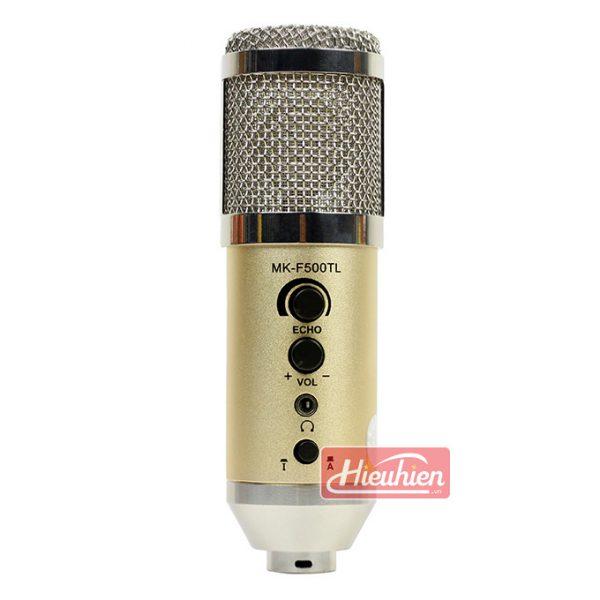 Micro live Mk-F500TL không cần soundcard thu âm karaoke 02