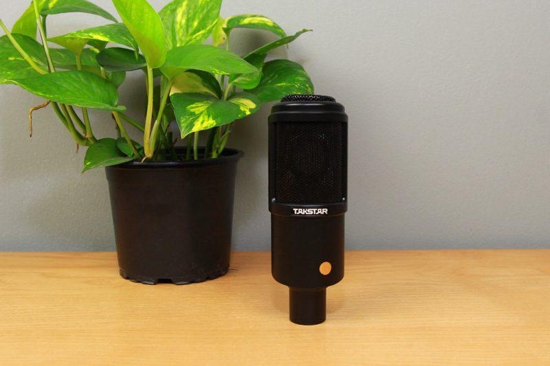 takstar pc-k320 - micro thu âm, mic hát karaoke, live stream - mặt trước