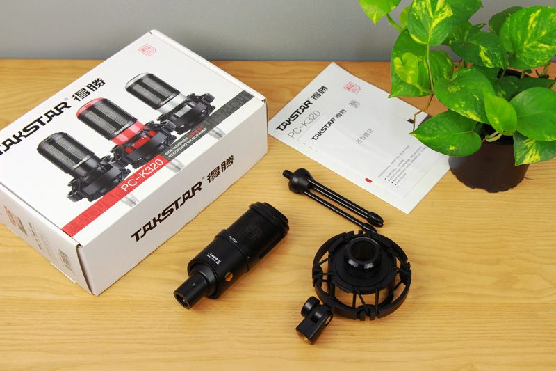 takstar pc-k320 - micro thu âm, mic hát karaoke, live stream - phụ kiện