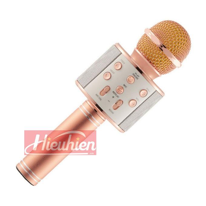 micro hat karaoke tich hop loa bluetooth ws 858