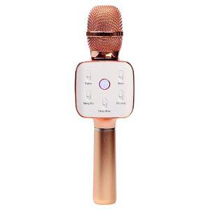 Mikara S10 Plus (Vàng Hồng) - Micro Karaoke Kèm Loa Bluetooth Cao Cấp, Hát Cực Hay 01