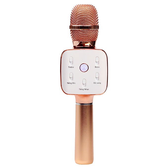mikara s10 plus - micro karaoke kem loa bluetooth cao cap, hat karaoke cuc hay 02