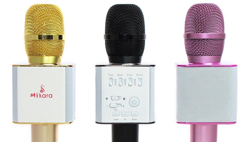 mikara s9 pro: micro kem loa 3 trong 1, mic hat karaoke bluetooth cuc hay 13