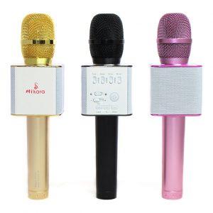 MiKara S9 Pro - Micro Kèm Loa 3 trong 1 Hát Karaoke Bluetooth Cực Hay 0