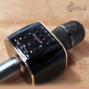 miracle m70 - micro karaoke bluetooth hàn quốc cao cấp, hát cực hay - hình 02