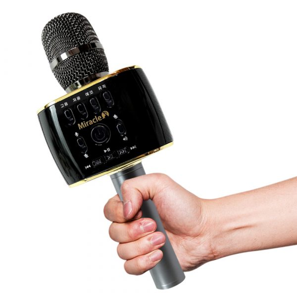 miracle m70 - micro karaoke bluetooth hàn quốc cao cấp, hát cực hay - hình 03