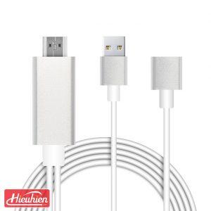 mirascreen ld5m-2 - cáp hdmi kết nối điện thoại với tivi, usb to hdtv cable