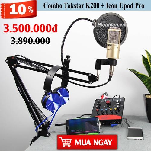 combo-takstar-k200-icon-upod-pro-sale-of-2-9