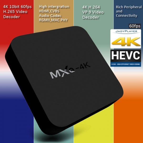 enybox mxq 4k android tv box giá rẻ, chip lõi tứ rockchip rk3229 - hình 06