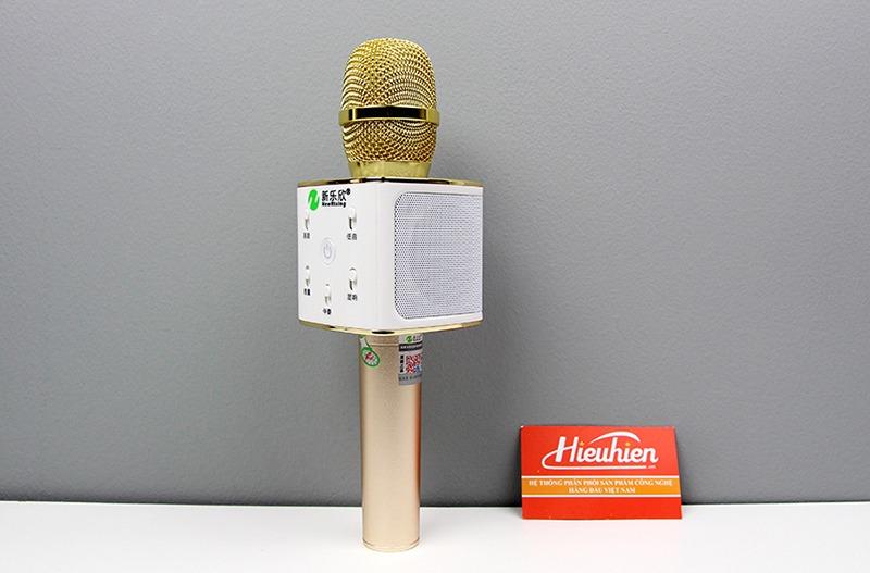 New Rixing NR-K7 - Micro karaoke kèm loa bluetooth 3 trong 1 - hình 02