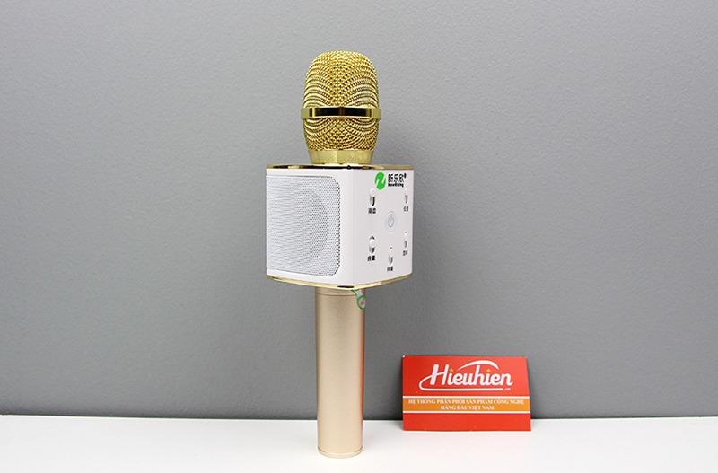 New Rixing NR-K7 - Micro karaoke kèm loa bluetooth 3 trong 1 - hình 03
