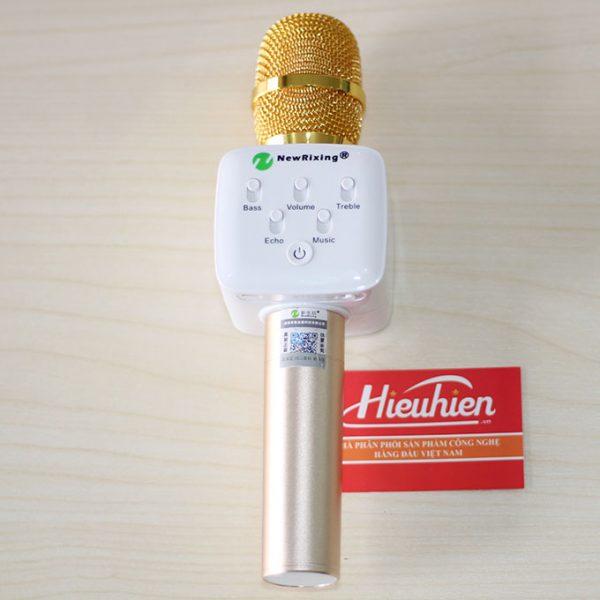 NewRixing K9 - Micro Kèm Loa Bluetooth 3 trong 1 Hát Karaoke Cực Hay 01