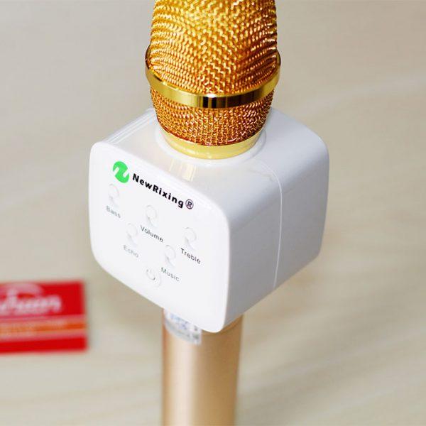 NewRixing K9 - Micro Kèm Loa Bluetooth 3 trong 1 Hát Karaoke Cực Hay 05