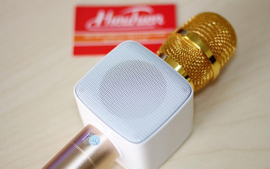 mic kem loa new rixing k9 chinh hang, micro k9 hat karaoke bluetooth cuc hay 10