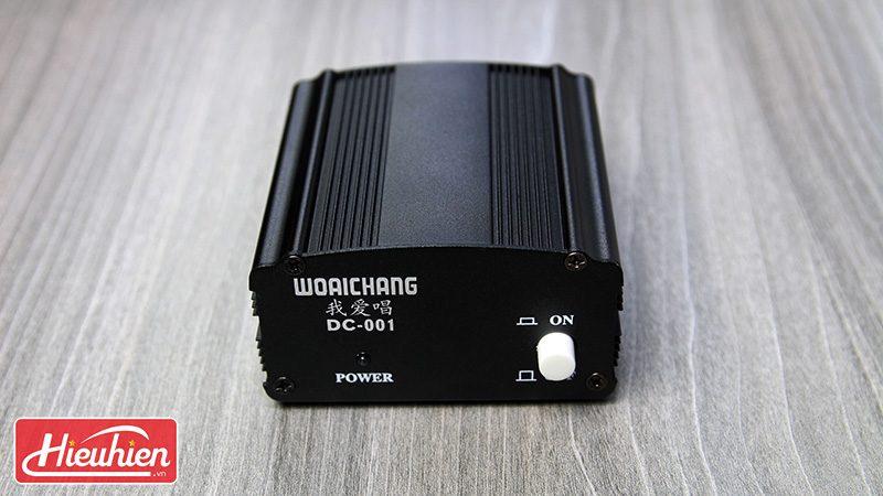 nguồn phantom 48v cho micro thu âm - mặt trước