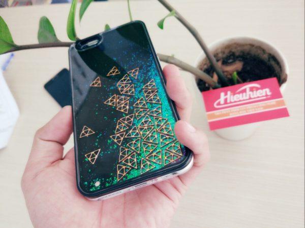ốp lưng lấp lánh đặc biệt dành cho iphone - hình 06