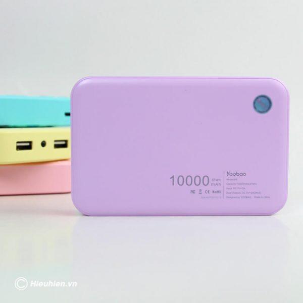 Pin sạc dự phòng 10000mAh New York Series Yoobao M5 07