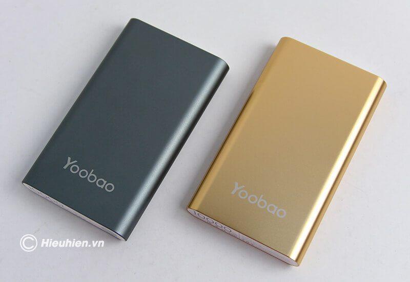 pin sạc dự phòng 10000mah yoobao pl10 - 2 màu