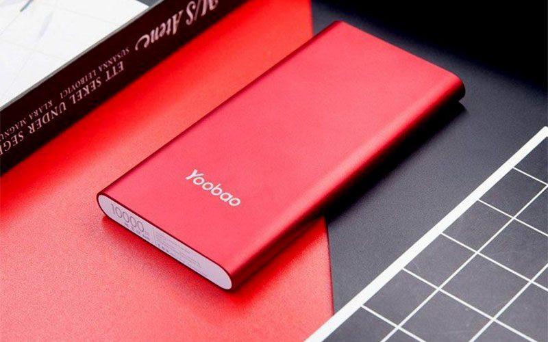 pin sạc dự phòng chính hãng yoobao a1 10000mah siêu mỏng - logo