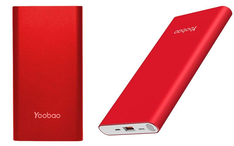 pin sạc dự phòng chính hãng yoobao a1 10000mah siêu mỏng - thiết kế mỏng