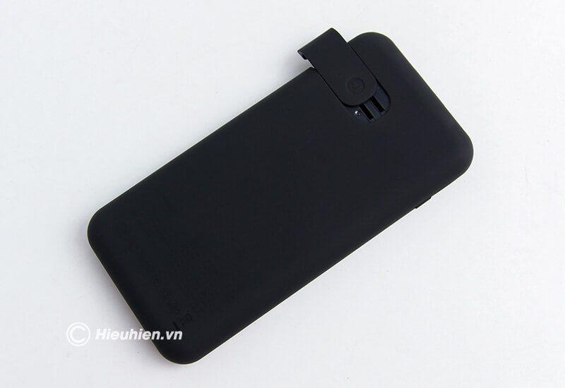 Pin Sạc Dự Phòng Không Dây 8000mAh Q2 Baseus LCD Qi Wireless Charger - ốp lưng
