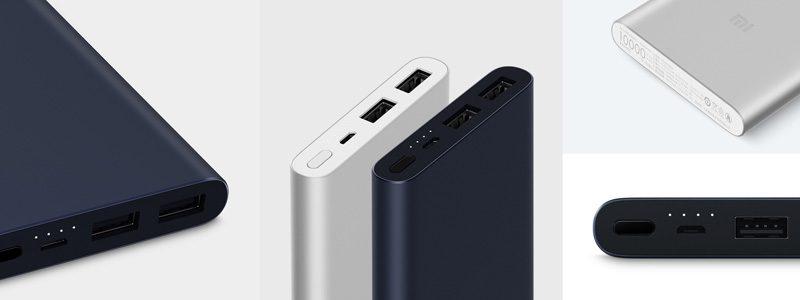 Pin sạc dự phòng Xiaomi 10000mAh Gen 2S 2018 giá rẻ, chính hãng - 2 màu
