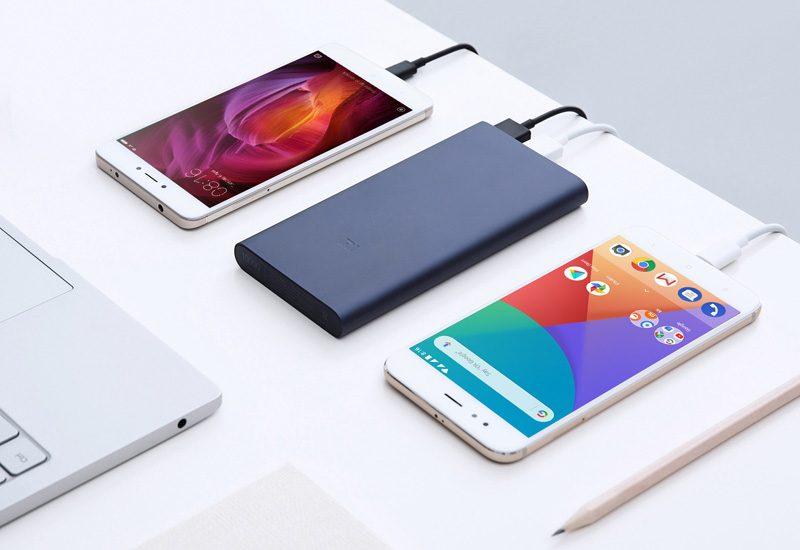 Pin sạc dự phòng Xiaomi 10000mAh Gen 2S 2018 giá rẻ, chính hãng - 2 điện thoại cùng lúc