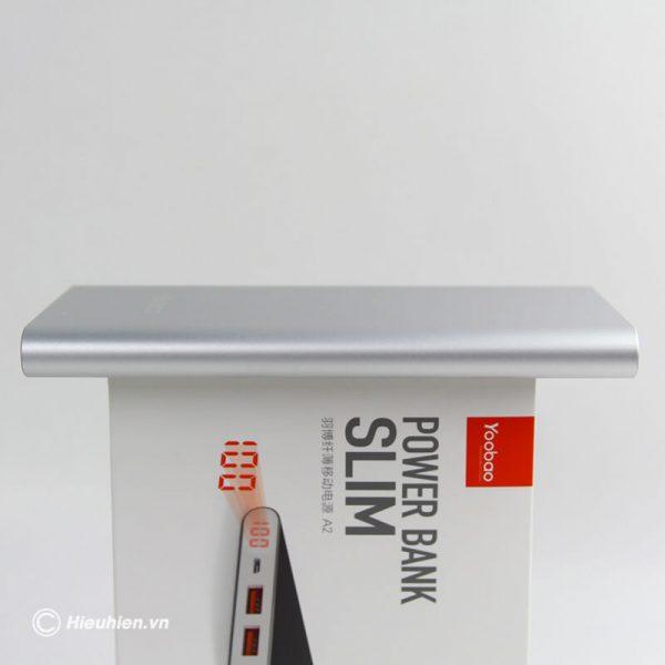 Pin sạc dự phòng 20000mAh Yoobao A2 siêu mỏng 04
