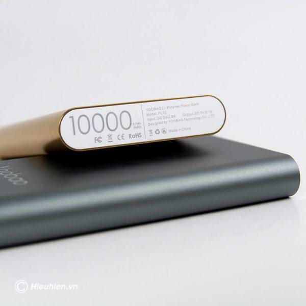 Pin sạc dự phòng 10000mAh Yoobao PL10 03