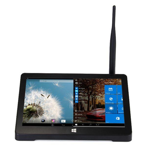 pipo x9 tv box chạy song song windows 10 và android 4.4, tích hợp màn hình 8.9 inch