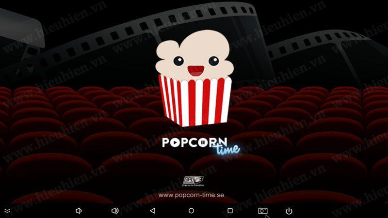 Popcorn Time - Ứng dụng xem phim nước ngoài trên Android TV Box hay nhất năm 2016