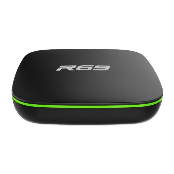 android tv box r69 giá rẻ, chip lõi tứ allwinner h2