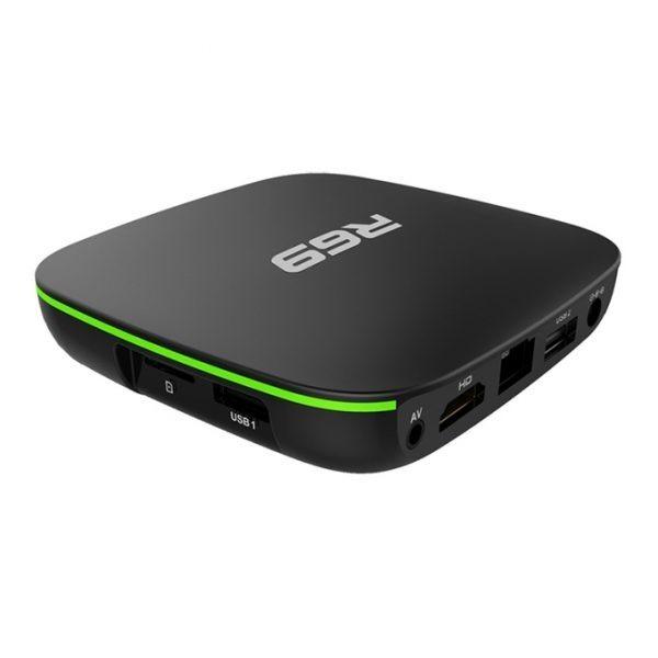 android tv box r69 giá rẻ, chip lõi tứ allwinner h2 chính hãng - hình 03