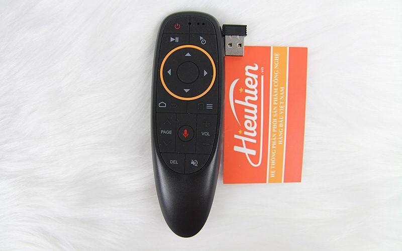 remote tìm kiếm giọng nói a2 - voice remote cho android tv box - mặt trước