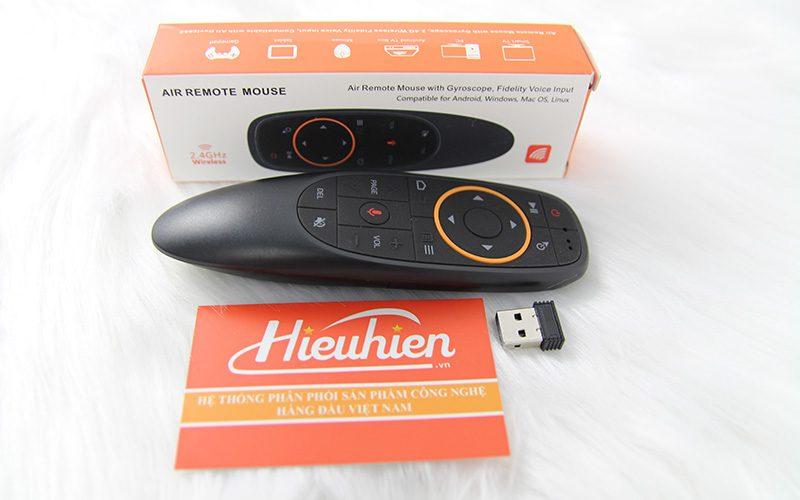 remote tìm kiếm giọng nói a2 - voice remote cho android tv box - cổng usb