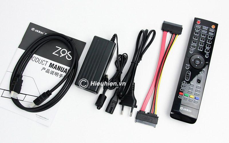Reviews Zidoo Z9S - siêu phẩm Android Box 4K mở đầu năm 2019 - phụ kiện
