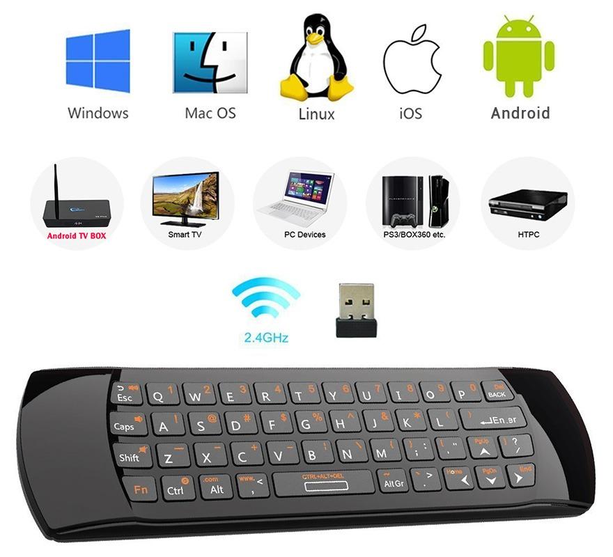 rii i25a - chuột bay tìm kiếm bằng giọng nói cho android tv box chính hãng - hình 09