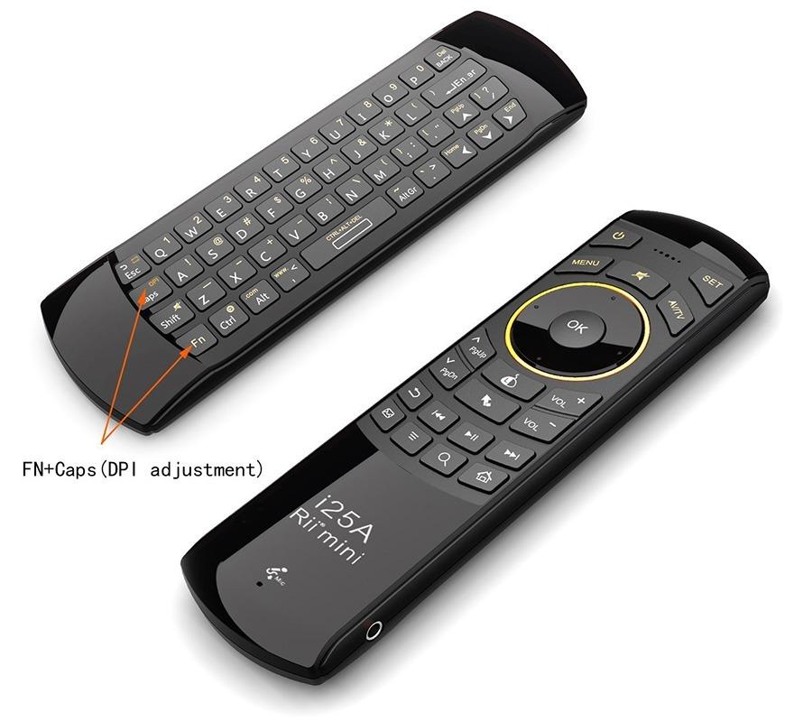 rii i25a - chuột bay tìm kiếm bằng giọng nói cho android tv box chính hãng - hình 10