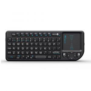 rii mini x1 chuột touchpad + bàn phím không dây cho android tv box