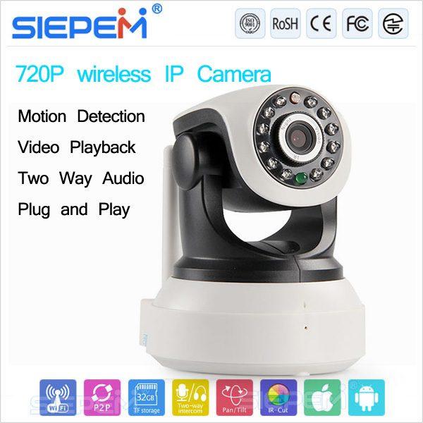 camera ip wifi siepem s6203y giám sát, quan sát không dây - hình 05